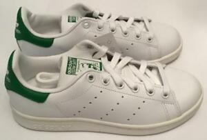 buy popular 989ef fdb22 Details about AUTHENTIC ADIDAS STAN SMITH TRAINERS - WHITE/GREEN - M20324 -  SIZES 3.5 TO 5.5