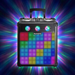 Details about Numark Party Mix Pro DJ Controller with Light Battery  Portable DJ Speaker