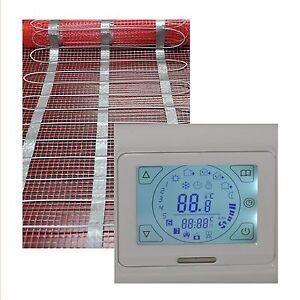 elektrische-Fussbodenheizung-18-qm-Touch-Screen-Regler-HB-Blanc-91-TS