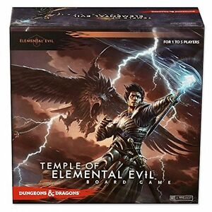 WizKids Dungeons & Dragons Temple of Elemental Evil BOARD GAME