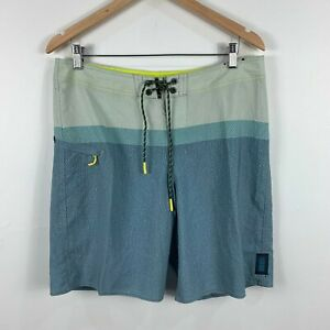 Depactus-Mens-Board-Shorts-Size-34-Swim-Shorts-Multicoloured-Drawstring