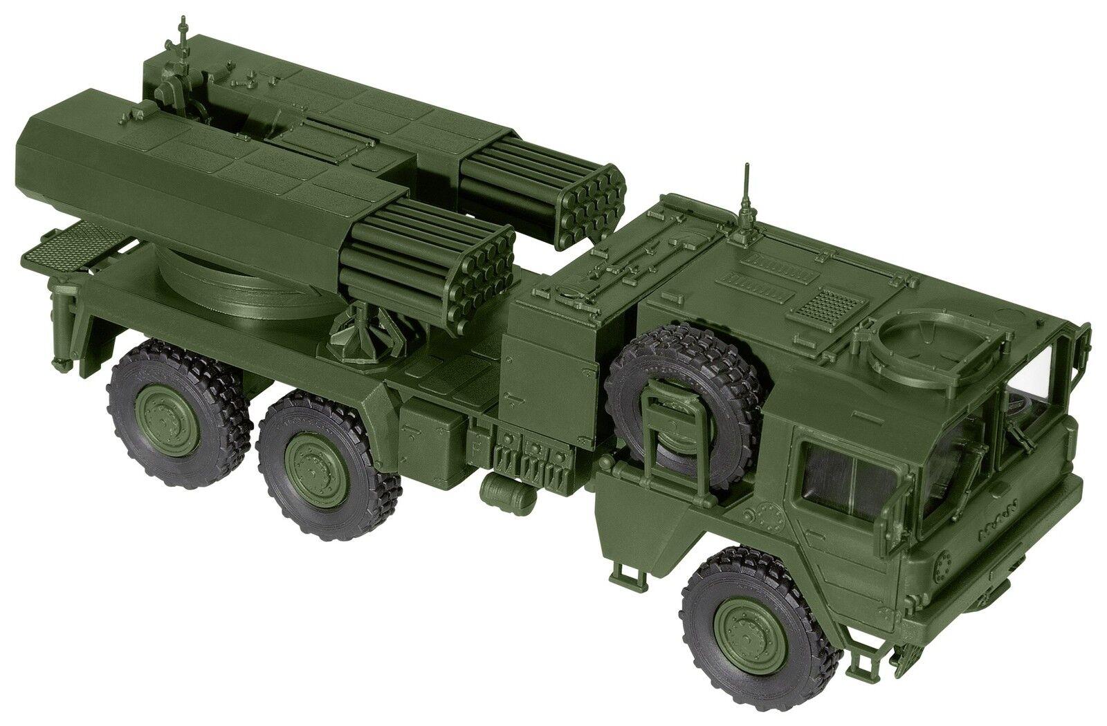 Roco H0 05057 Minitank Bausatz  MAN LKW Raketen System LARS 2  BW 1 87 NEU + OVP