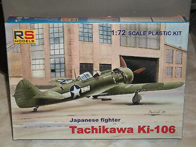 Rs Models Rsmo92103 Tachikawa Ki-106 1//72