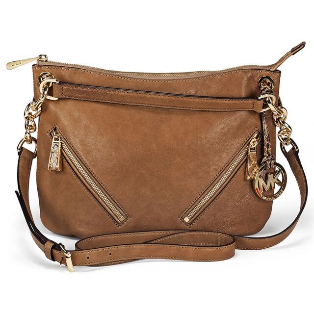 Michael Kors Matilda Medium Convertible Handbag in Mushroom - Brown