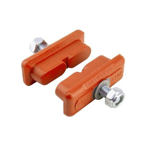 Salmon Compound OLD SCHOOL BMX Kool-Stop CONTINENTAL brake BMX pads