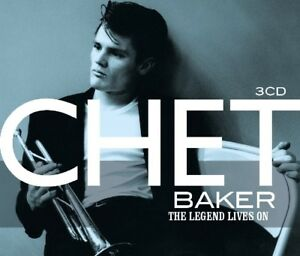 CHET BAKER - LEGENDS LIVE ON 3 CD NEW - Weinstadt, Deutschland - CHET BAKER - LEGENDS LIVE ON 3 CD NEW - Weinstadt, Deutschland