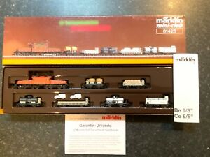 Marklin-spur-z-scale-gauge-034-Swiss-Freight-Traffic-034-Train-Set-Very-RARE