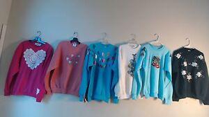 Di Warm Grandma Xl Style Special Euc Size Maglione 6 Multi Felpe Lotto qfFt1P