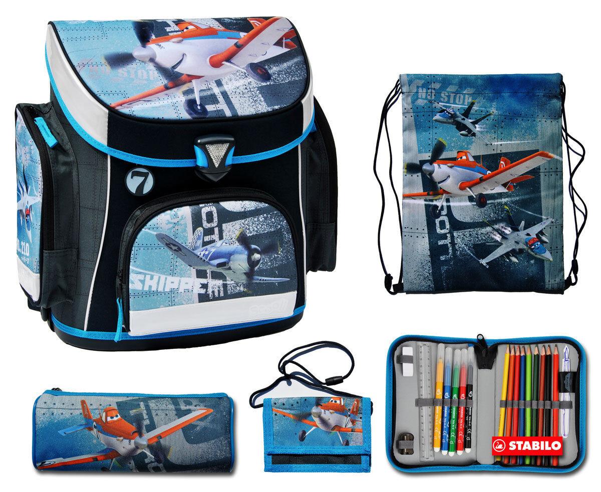 Schulranzen 5 Tlg Tornister Schultornister Schüleretui Schuhbeutel Schultasche   Bekannt für seine gute Qualität    Online-Shop    Online-Shop