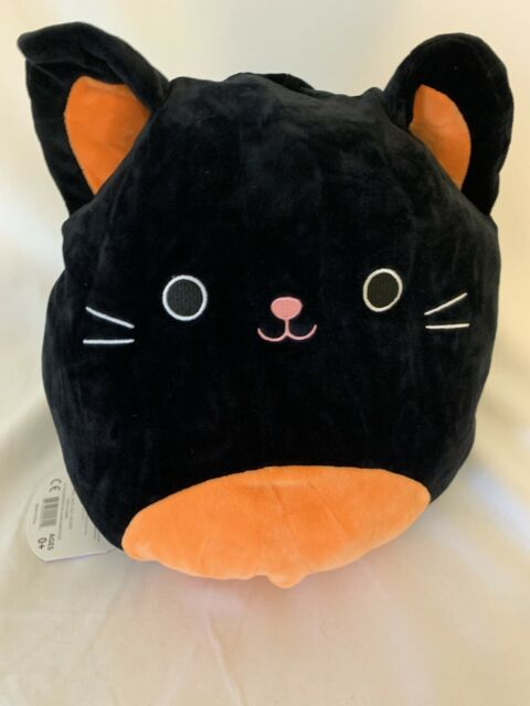 "Squishmallows Flip-A-Mallows Halloween 12"" Jack-o-lantern Paige & Cat Colton New"