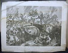 Battle of the Amazons aft d'ap Rubens Bataille des amazones c 1750 G Duchange sc