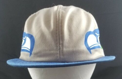 Vintage Seattle Seahawks Dual Sidded Logo Snapback