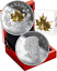 2019-Golden-Maple-Leaf-3-D-Exclusive-Masters-Club-15-Silver-Proof-Coin-Canada thumbnail 2