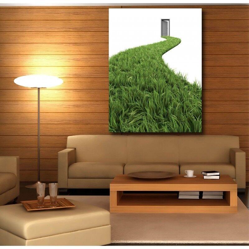 Tableaux toile verticale déco rectangle verticale toile porte pelouse 3236458 c3da85