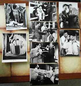 3-Original-Pressefotos-JERRY-LEWIS-DEAN-MARTIN-s-w