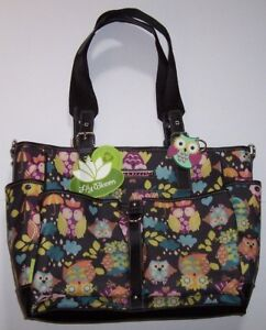 Image Is Loading Nwt Lily Bloom Black What A Hoot Owls