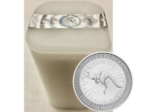 25x1 oz. Unze Silber Känguru 2020 - 1 Dollar Silbermünze 999,9 Australien