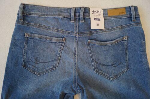 edc by ESPRIT Hot Pants  Jeansshorts W26,27,28,29,30 Stretch 2 Farben NEU