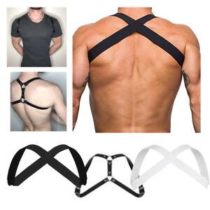 Sexy-Men-Elastic-Body-Strap-Harness-Goth-Belt-Strap-Costume-Fancy-Dress-Clubwear