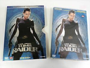 TOMB RAIDER LARA CROFT DVD STEELBOX ENGLISH DEUTSCH - GERMAN EDITION - AM