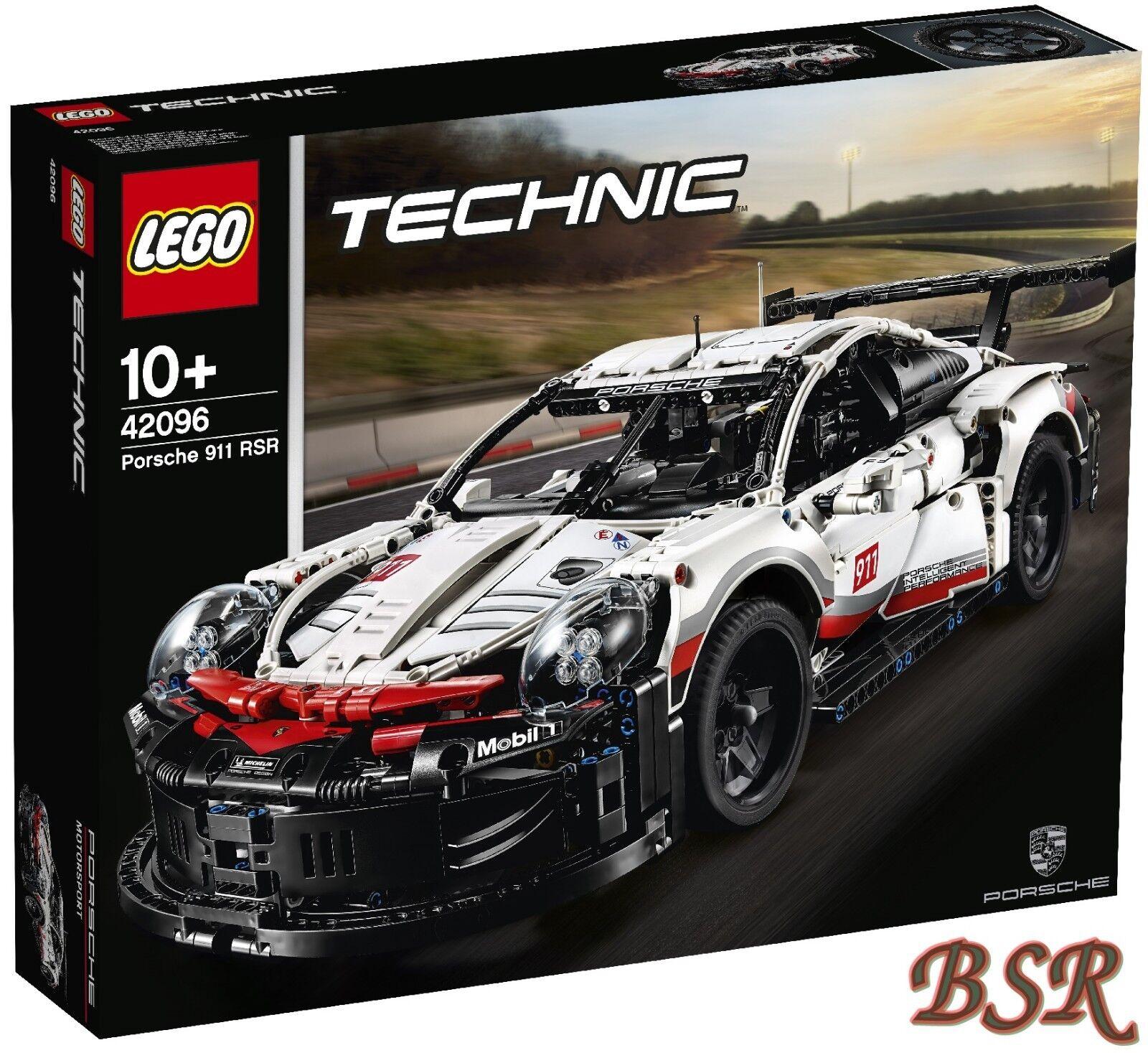 Lego Technique   42096 Porsche 911 Rsr & Livraison & Neuf & Emballage D'Origine