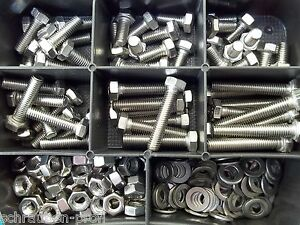 180-Teile-Edelstahl-Sortiment-Set-DIN-933-BOX-M4-Rostfrei-V2A