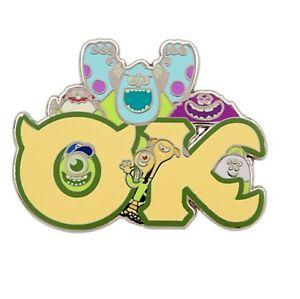 Ok Fraternity Pin Week 3 Mu Monsters University Oozma Kappaa Nwt Disney Store Ebay