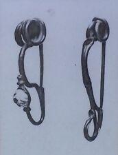 Bronze Brooches, Early Iron Age of Britain, La Tene I, Magic Lantern Glass Slide
