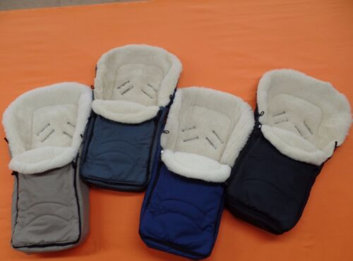 Footmuff for Maxicosi Römer Car Seat Lamb/'s Wool Merino 100/% 4 Colors New Top