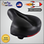 Comfort Bike Saddle Seat for Women /& Men Padded Soft Memory Foam Indoor//Outdoor