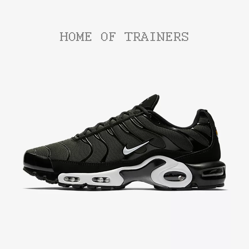 Nike Sequoia Air Max Plus noir Sequoia Nike Sequoia noir homme Trainers All Tailles 2a06fa