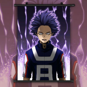 0594-Anime My Boku no Hero Academia Shinsou Hitoshi Wall Poster Scroll 40*60cm
