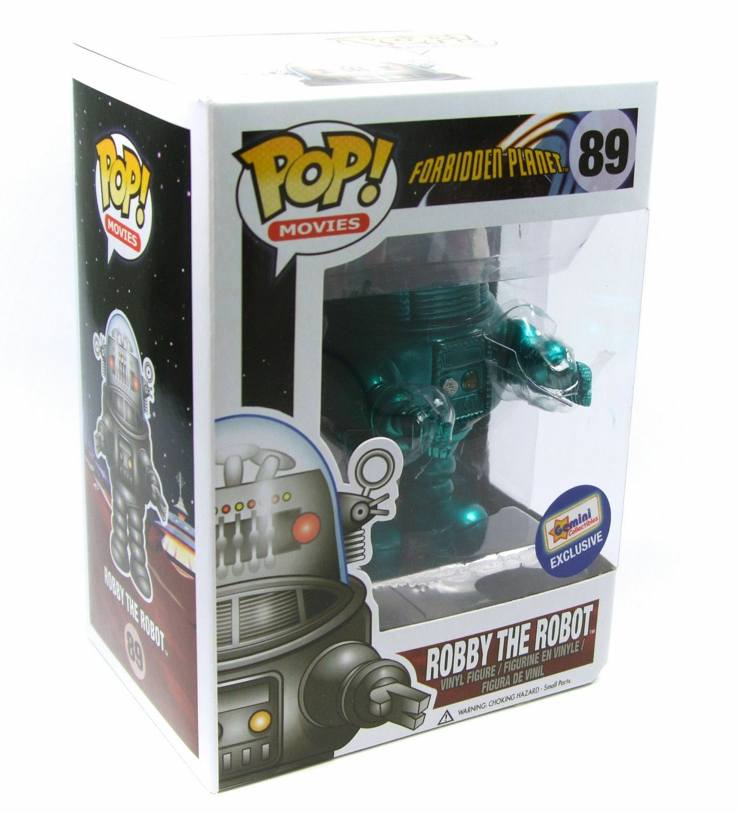FUNKO POP MOVIES FORBIDDEN PLANET  89 ROBBY THE ROBOTGEMINI RARE VINYL