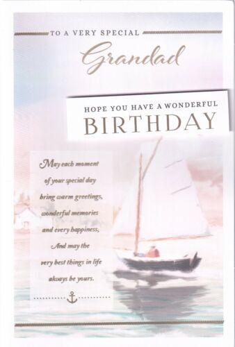 TO A VERY SPECIAL GRANDAD BIRTHDAY CARD