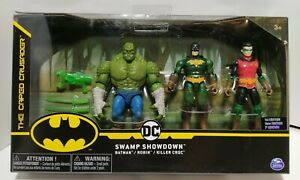 Batman 2020 DC The Caped Crusader Swamp Showdown 1st Edition Walmart Exclusive