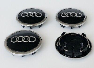 4 x Ruota in Lega AUDI distintivi Centro Tappi Star 135MM 4F0601165N A3 A4 A5 A6 A7 A8