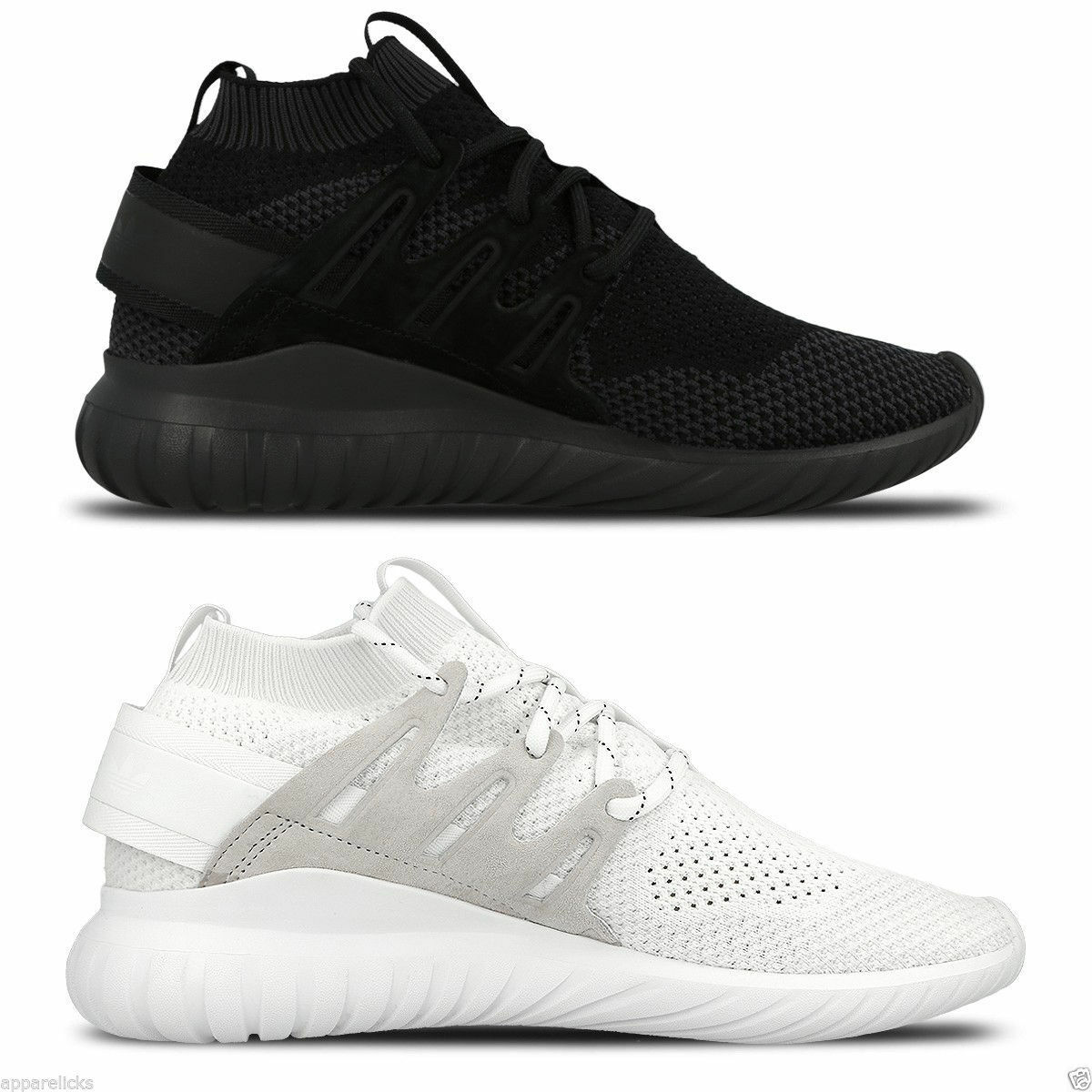 Adidas Originals Women's Tubular Nova Primeknit Trainers Trainers Trainers Fitness Gym Black White e1287d