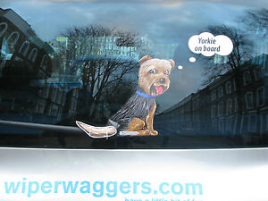 YORKSHIRE-TERRIER-039-YORKIE-039-DOG-LOVER-NOVELTY-GIFT-FOR-YOUR-CAR-REAR-WIPER