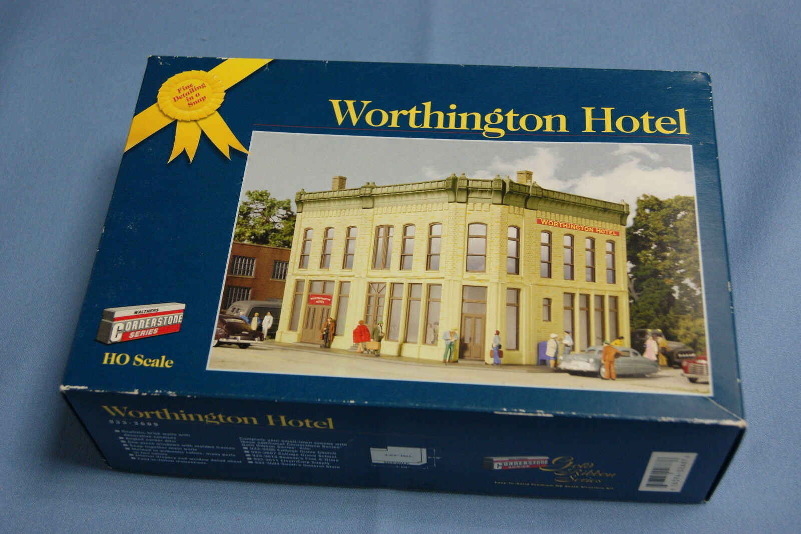Cornerstone 933-3609 Worthington Hotel   HO Scale