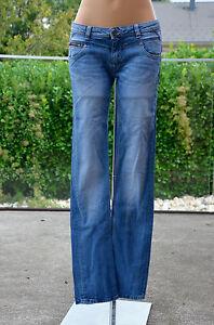KAPORAL-Tres-joli-jeans-bleu-modele-marta-taille-16-ans-EXCELLENT-ETAT