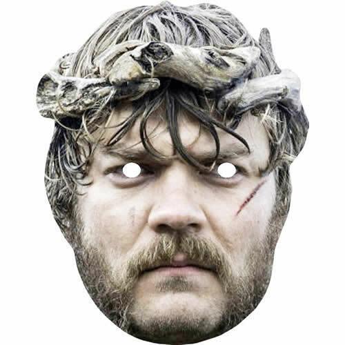 EURON Greyjoy-PILOU asbaek piatto carta Mask-GAME OF THRONES-Maschere pre-tagliati!