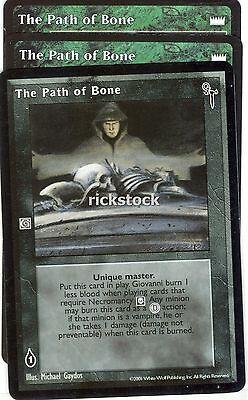 The Path of Bone x3 LotN FN VTES Jyhad