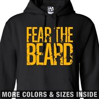 Fear The Beard Hoodie - Hooded Dynasty Mode Duck Sweatshirt - All Sizes & Colors