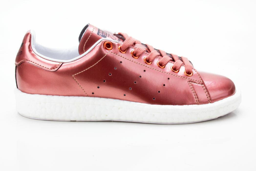 Adidas Stan Smith Boost W Originals Damen Turnschuhe Retro Schuhe BB0107 bronze-wei
