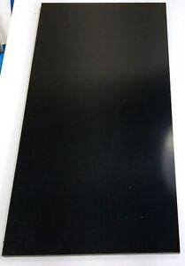 """1//8/"""" x 12/"""" x 12/"""" G10 Black Phenolic Sheet"""