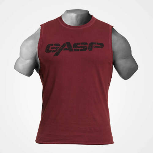 Details about  /Gasp Vintage Tank Maroon