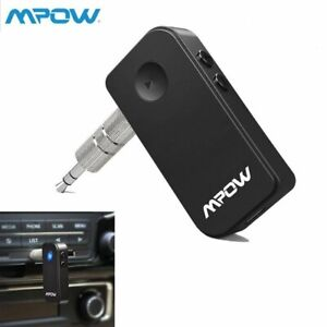 Hands-Free Bluetooth Car Kits for Car Mpow BH044 Bluetooth Receiver Bluetooth Car Adapter /& Bluetooth Car Aux Adapter for Music Streaming Sound System