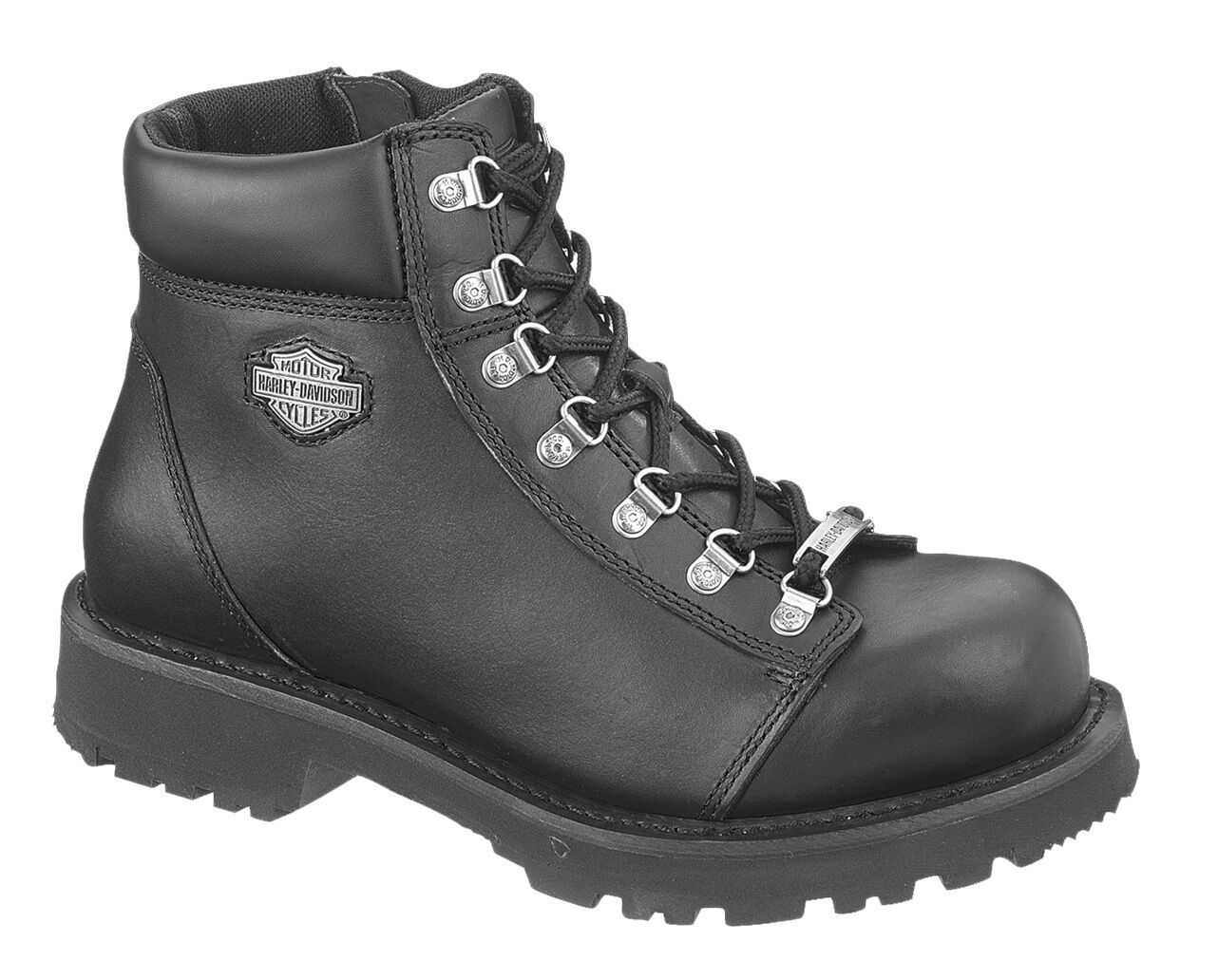 nouveau Pour des hommes HARLEY DAVIDSON WYOMING noir bottes  98019 Taille 13US  OUT OF STOCK