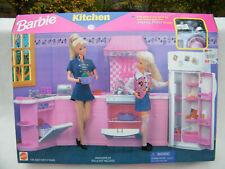2000 Mattel Barbie All Around Home Kitchen Playset 67554 New Nib For Sale Online