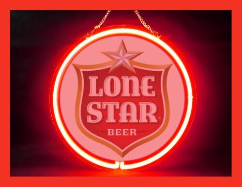 LONESTAR BEER Hub Bar Display Advertising Neon Sign